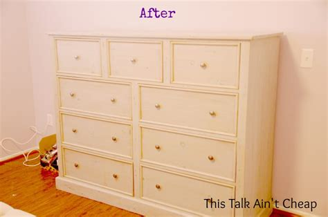 Refinishing Dresser Diy by Diy Refinished Furniture