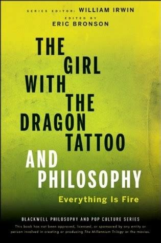 the girl with the dragon tattoo genre the with the and philosophy everything