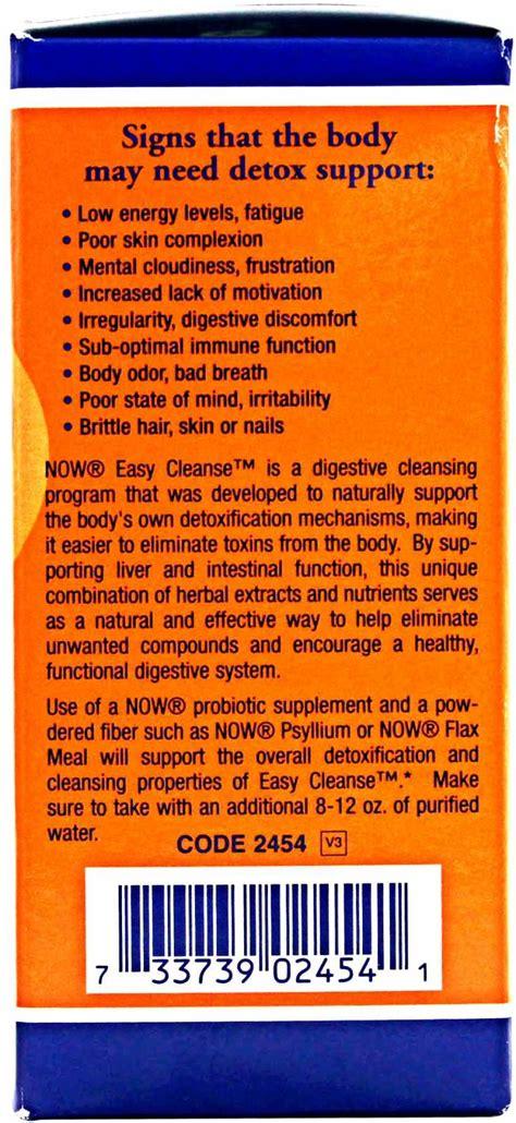 Novo Detox Closed by Fotografias De Now Easy Cleanse Kit Na Zumbu