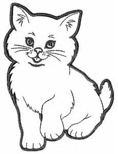 Outline Drawing Cat Laying Vitruvian Outline by Kitten Outline Embroidery Design For Cats Kittens Design And Embroidery