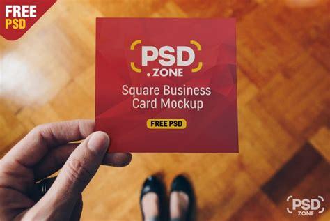 square business card mockup fresh 40 free business card mockup psd