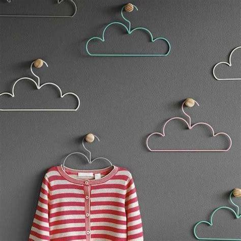 design clothes hanger colorful cloud hangers coat hanger design