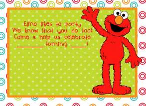 Elmo Template For Invitations elmo birthday on elmo elmo