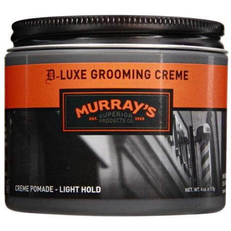 D Luxe Grooming Creme murray s d luxe grooming creme pomade