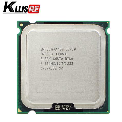 Xeon E5430 intel xeon e5430 2 66ghz 12m 1333mhz cpu works on lga775