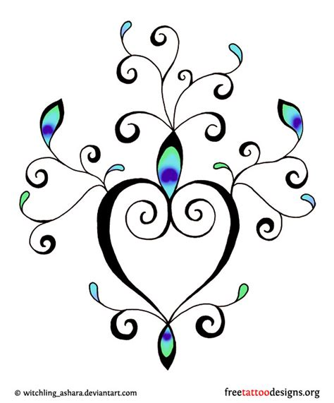 cute heart tattoo designs small on ankle foto 2017