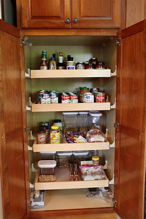 Pull Out Pantry Plans by Pull Out Pantry Shelves Kitchen Ideas