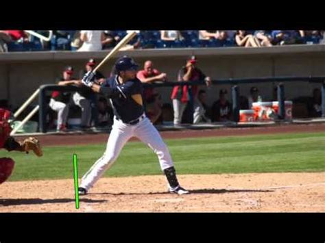 ryan braun swing ryan braun bat swing breakdown youtube