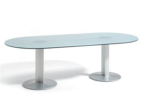 tavoli ovali in vetro tavolo ovale vetro idee di design per la casa rustify us