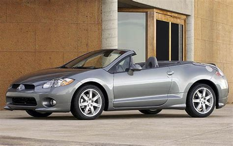 mitsubishi convertible 2007 2007 mitsubishi eclipse spyder information and photos