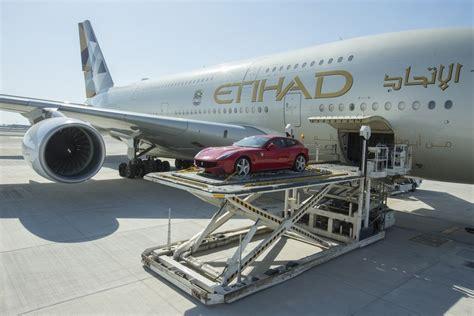etihad launches luxury car cargo service  summer