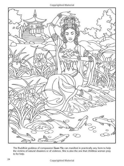 coloring pages for adults buddhist buddhist goddess coloring pages pinterest buddhists