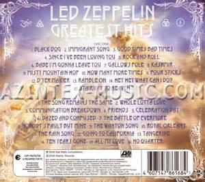 Led zeppelin greatest hits 2 cd digipack