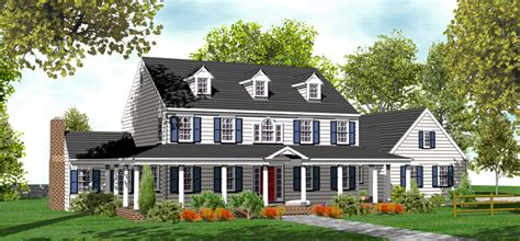 Two Story Colonial House Plans by 2 Story Colonial House Plans For Sale Original Home Plans