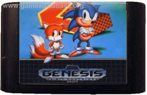 sonic the hedgehog sega genesis sonic the hedgehog 2 sega genesis database