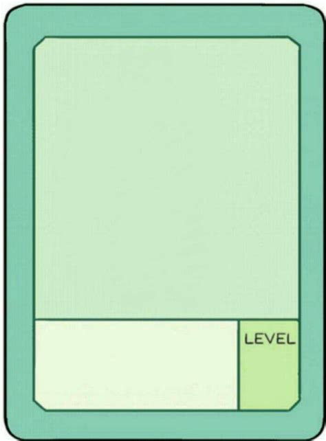 ok ko pow card template power card ok k o let s be heroes amino