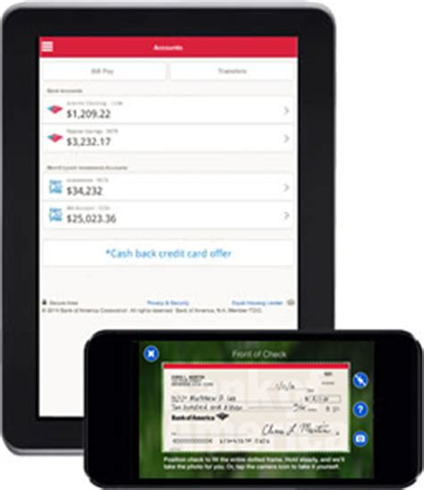 bank of america app for android tablets bank of america mobile banking for android