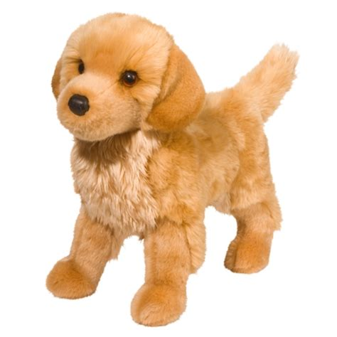 stuffed golden retriever king the plush golden retriever puppy by douglas at stuffed safari