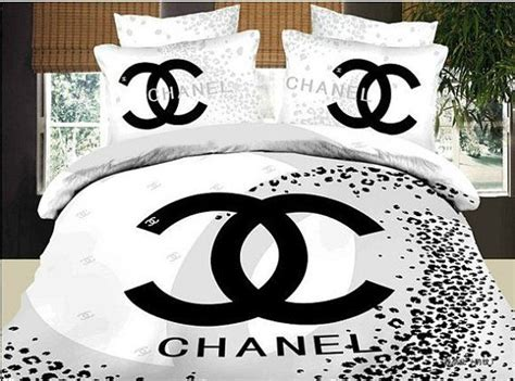 chanel bedding chanel inspired bedding set fitted sheet 2 by