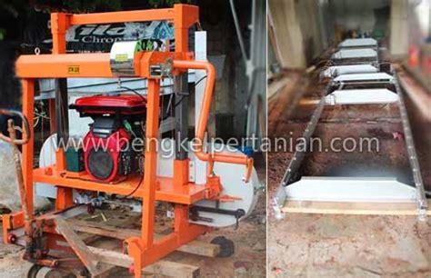 Mesin Gergaji Sawmill bengkel pertanian teknas alat mesin pertanian dan