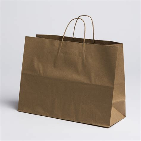 Paper Bags For - kraft paper shopping bags large a b store fixtures