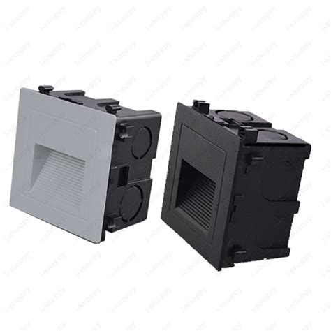 Outdoor Lighting Junction Box Outdoor 3w Led Wall Light Fixture Waterproof Step Stair L Junction Box Road Ebay