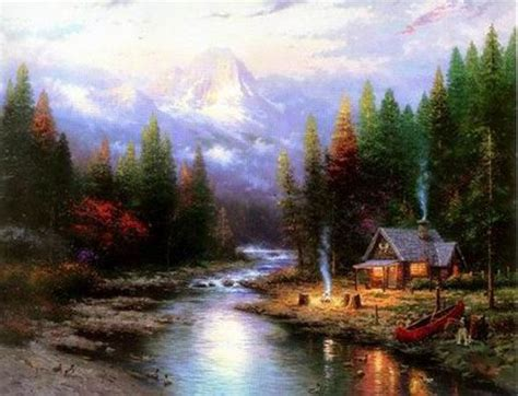 Landscape Paintings Reproductions Landscape Paintings By Artists China Painting