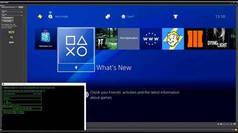 ps4 themes waiting to install ps4 jailbreak 4 05 install pkg s games themes apps how to