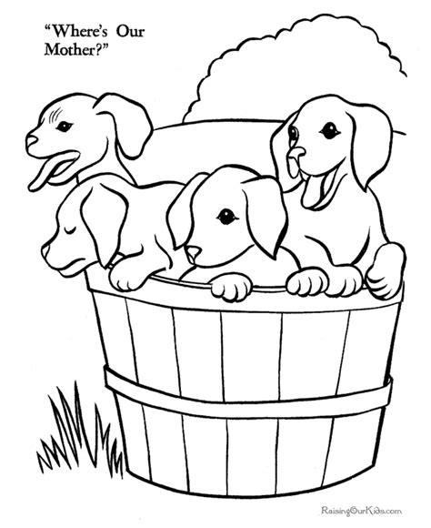 printable puppies free coloring pages art coloring pages