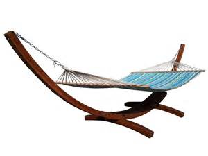 wooden arc hammock stand new quilted double hammock double padded teak color ebay