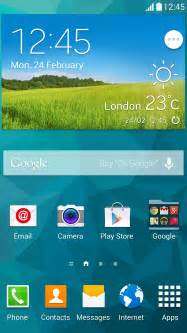 samsung galaxy s5 home screen 10 features of the galaxy s5 samsung global newsroom