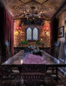 gothic dining room talliston house turned into real life historical