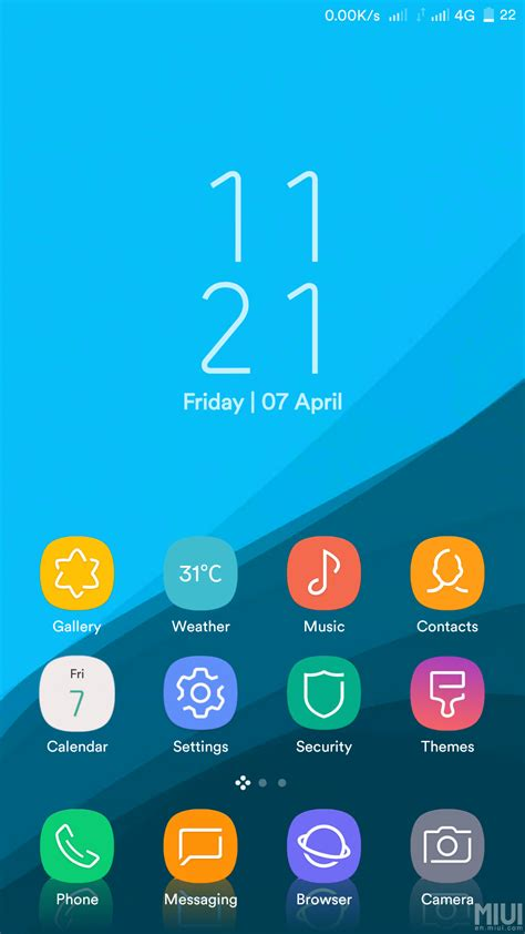 themes mi com the s8 dreamux is a must have theme for miui 8 themes