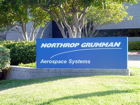 Northrop Grumman Corporation Mba Intern by Sign Outside Northrop Grumman Northrop Grumman Office