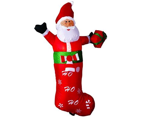 large airblown inflatable santa claus christmas outdoor