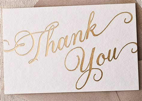 Inspiration: Wedding Thank You Cards   United With Love