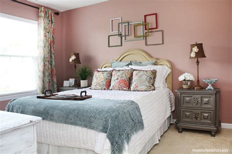 bedroom makeover brother s guest bedroom makeover how to nest for less