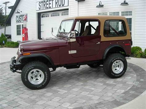Jeep Contact 1978 Jeep Cj7 For Sale Classiccars Cc 998135