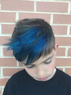 Cool Bad Boy Oleh Luluara teal and blue highlights for merman hair is so in right now this look was done by cici