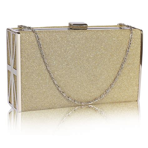 Shopping Magnes Gold Clutch by Leilani Gold Clutches Bags Shopping