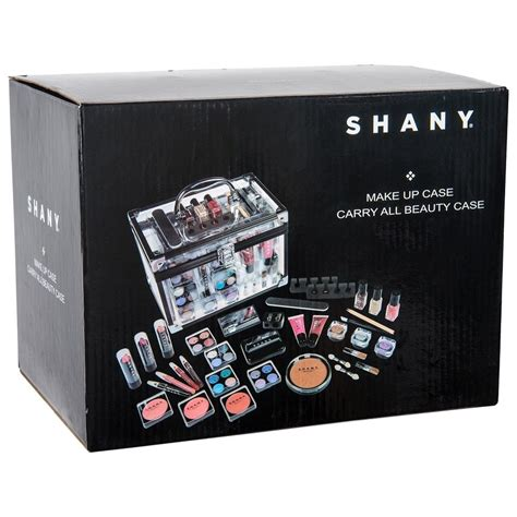 Hm Makeup Kit Original Us shany carry all trunk professional makeup kit eyeshadow pedicure manicure with