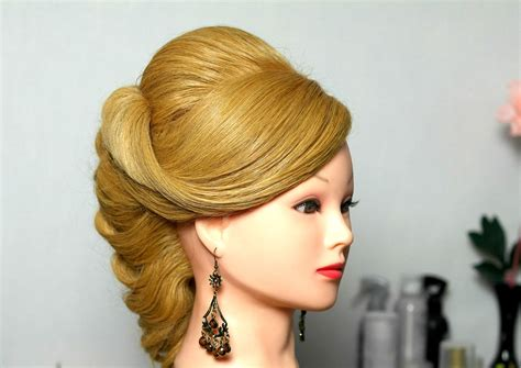 hair styles for porous hair romantic wedding prom hairstyle for long hair youtube