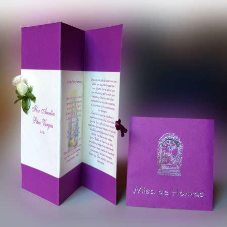 diseos de tarjetas para invitacin de misa de difuntos invitaci 243 n para misa de honras hr 56851 angels graphic