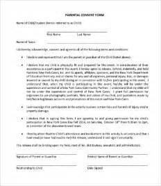parental consent form template consent form template 9 free word pdf documents