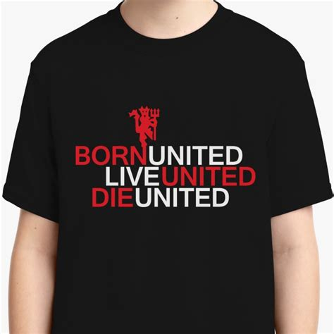 T Shirt Born Live Die Barca born united live united die united youth t shirt customon