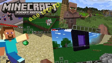 minecraft 0 9 0 apk minecraft pe 0 9 0 update