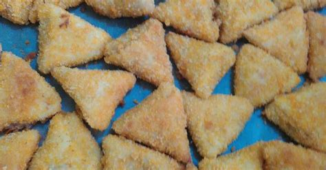 resep risol segitiga enak  sederhana cookpad