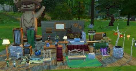 Sims 4 Outdoor Retreat Game Pack: Features & Pictures