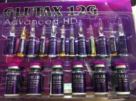 Glutax 12g Advance Hd whitening glutathione glutax 12g advanced hd