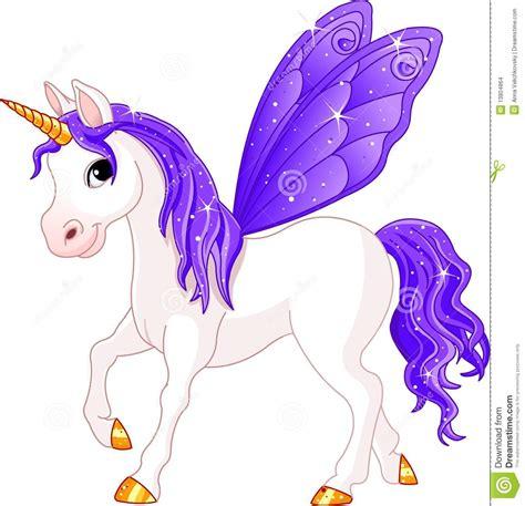 imagenes de unicornios con hadas caballo de hadas de la violeta de la cola imagenes de
